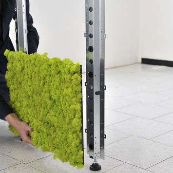 Mounting system - Room Divider MOSSwall®