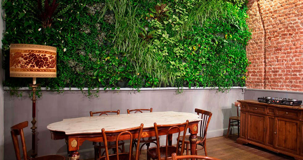 Large vertical gardens, Interior wall plant for Eppol Restaurant - photo 5.