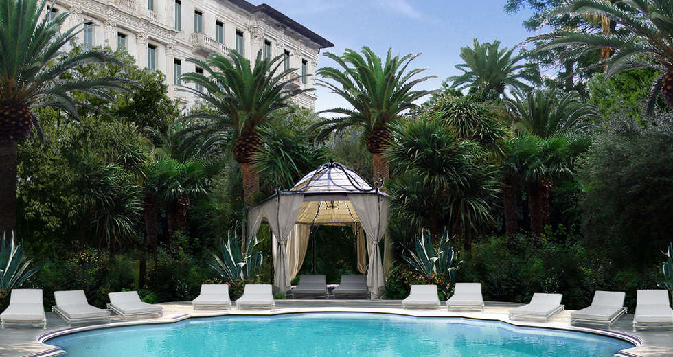 Garden design for Astoria Palace Sanremo - photo 4.
