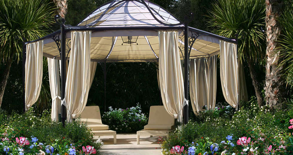 Garden design for Astoria Palace Sanremo - photo 2.
