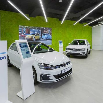 Fusion - Showroom Volkswagen Madrid