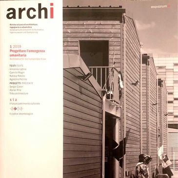archi - Swiss magazine about di architecture, engineering and urbanistic