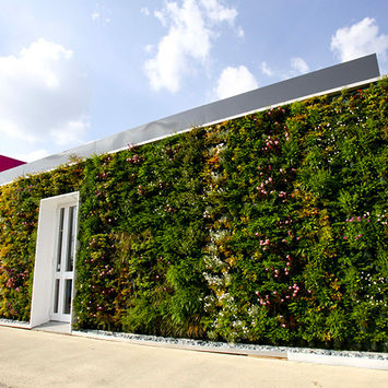 Outdoor vertical garden - Expo Coop 2015