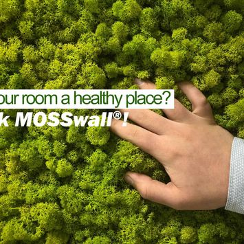 MOSSwall®: your air quality meter