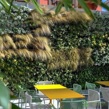Outdoor vertical garden - OUTDOOR VERTICAL GARDEN IN ROME