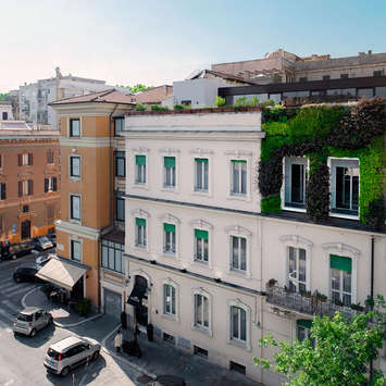 Green Wall - Beldes Hotel Rome