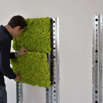 Mounting system - Wall Mounting MOSSwall®